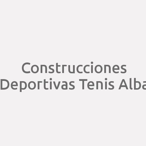 Construcciones Deportivas Tenis Alba