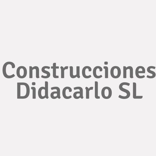 Construcciones Didacarlo. Sl