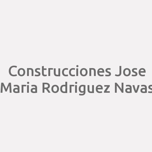 Construcciones Jose Maria Rodriguez Navas