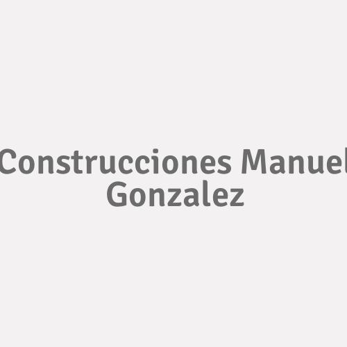Construcciones Manuel Gonzalez