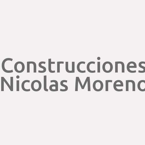 Construcciones Nicolas Moreno