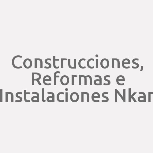 Construcciones, Reformas E Instalaciones Nkan