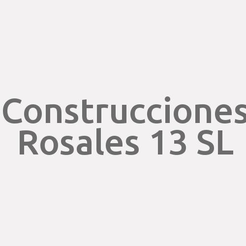 Construcciones Rosales 13 Sl
