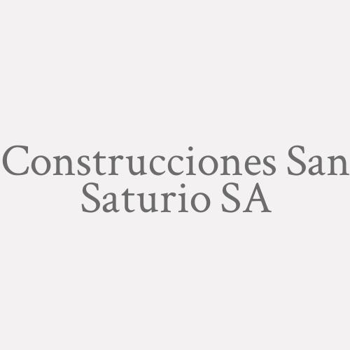 Construcciones San Saturio S.A.
