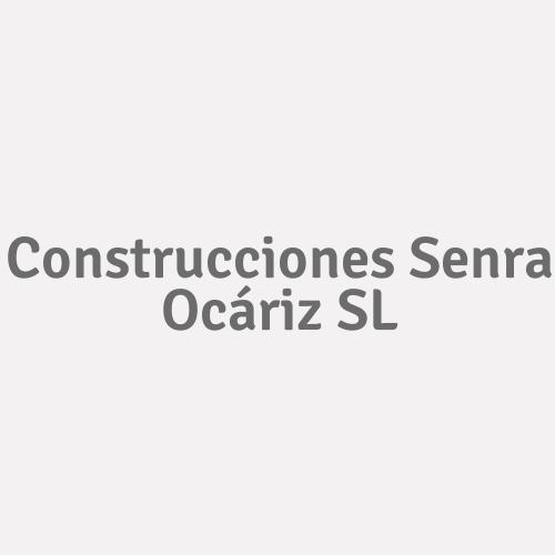 Construcciones Senra Ocáriz SL