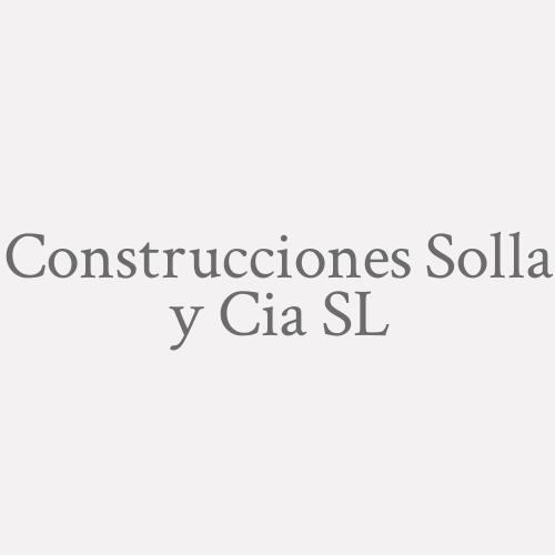 Construcciones Solla Y Cia S.L.