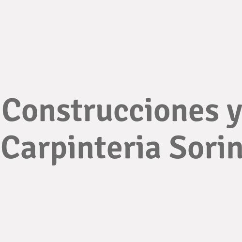 Construcciones Y Carpinteria Sorin
