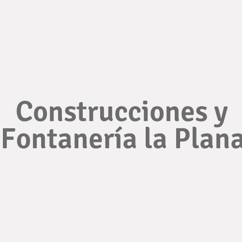 Construcciones y Fontanería la Plana