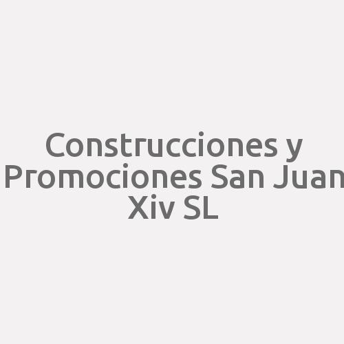 Construcciones Y Promociones San Juan XIV  S.l.