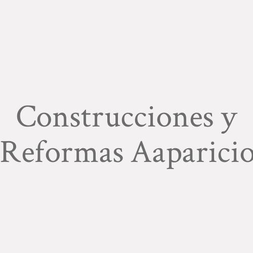 Construcciones Y Reformas A.aparicio