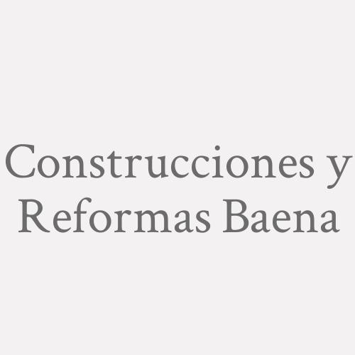 Construcciones Y Reformas Baena