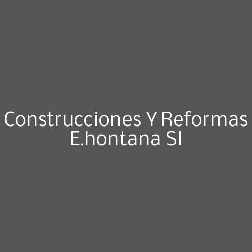 Construcciones y reformas e.hontana sl