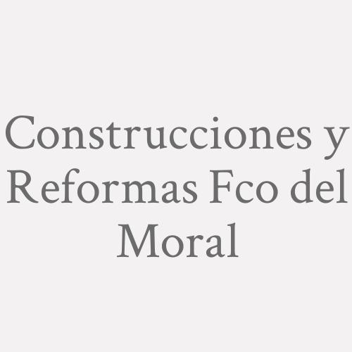 Construcciones Y Reformas Fco Del Moral