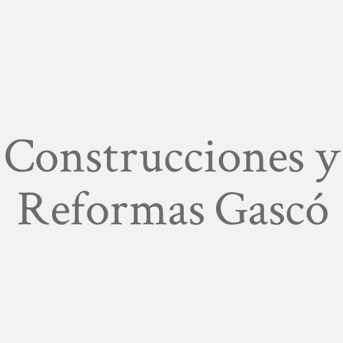 Construcciones Y Reformas Gascó