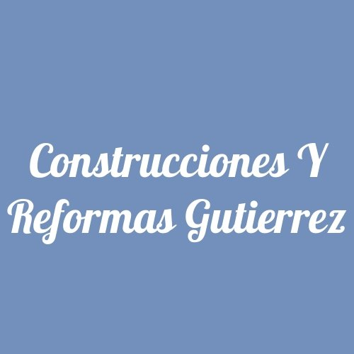 Construcciones y Reformas Gutierrez