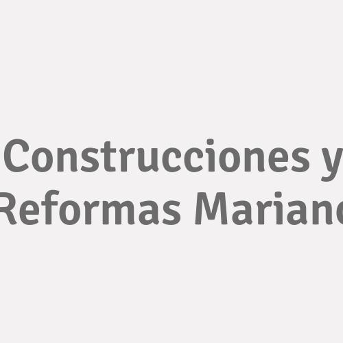 Construcciones Y Reformas Mariano