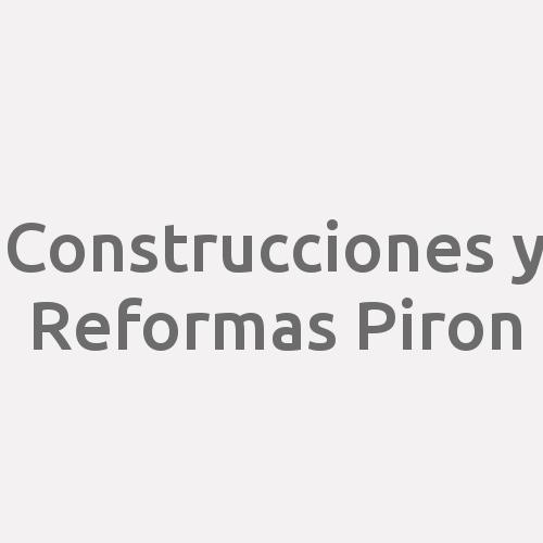 Construcciones Y Reformas Piron