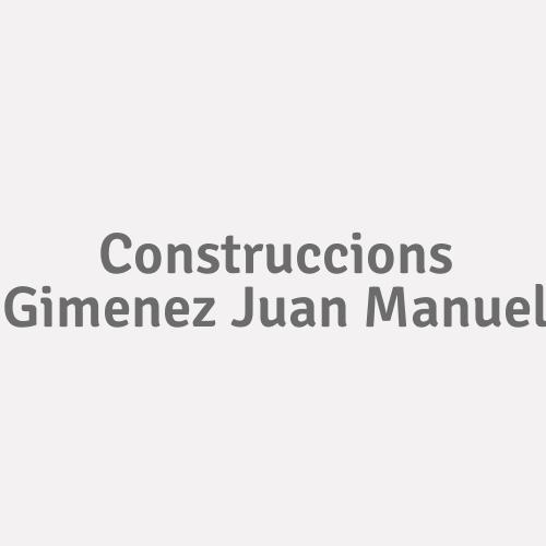 Construccions Gimenez Juan Manuel