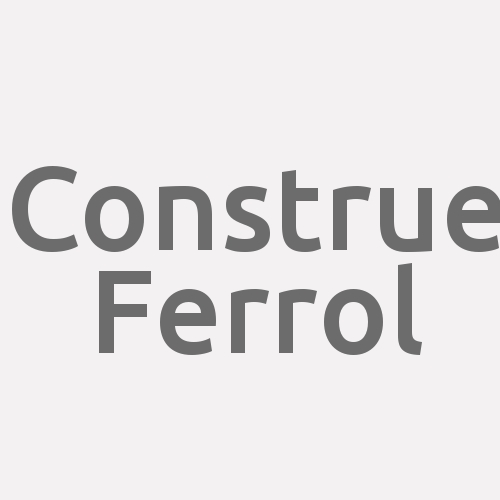 Construe Ferrol