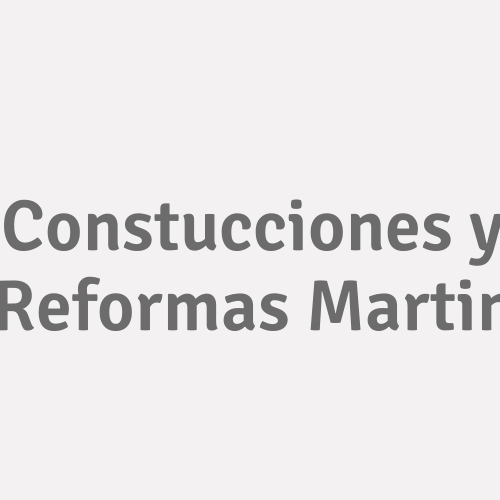 Constucciones y Reformas Martin