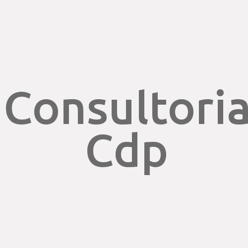 Consultoria Cdp