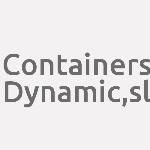Containers Dynamic,s.l.