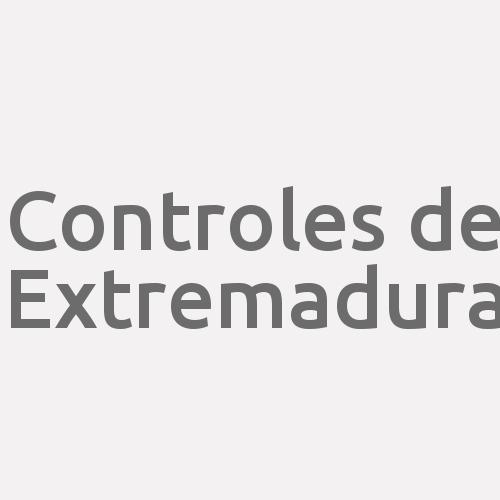 Controles de Extremadura