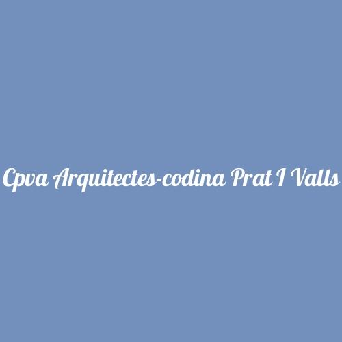 Cpva Arquitectes-codina Prat I Valls