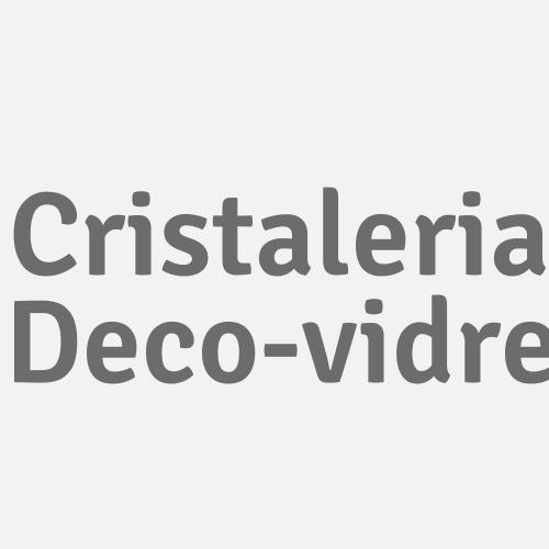 Cristaleria Deco-vidre