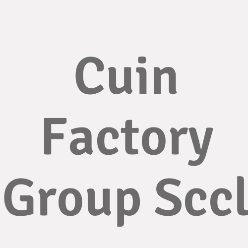 Cuin Factory Group Sccl
