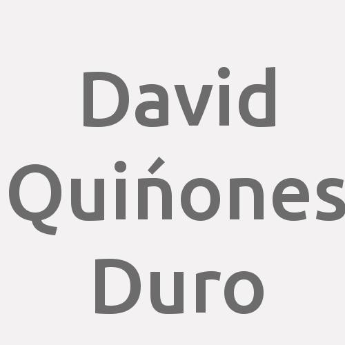 David Quińones Duro
