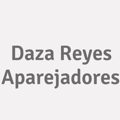 Daza Reyes Aparejadores