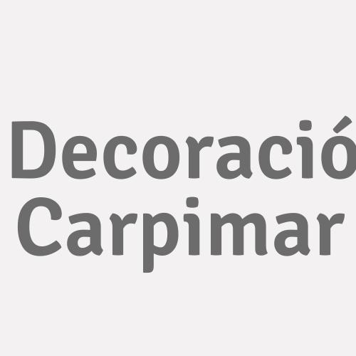 Decoració Carpimar