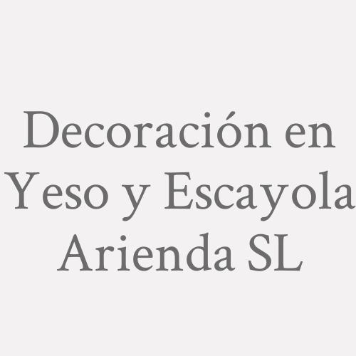Decoración en Yeso y Escayola Arienda SL