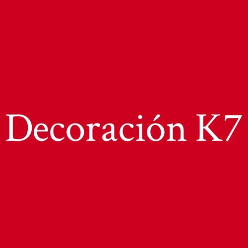 Decoración K7