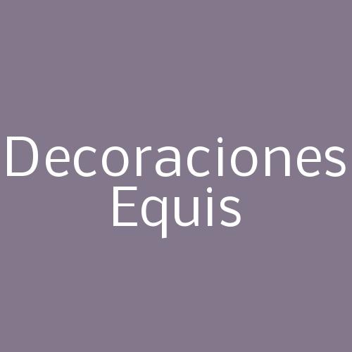 Decoraciones Equis