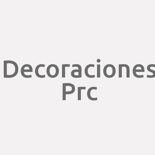 Decoraciones Prc