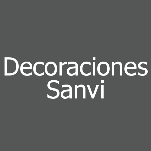 Decoraciones Sanvi