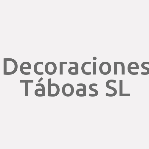 Decoraciones Táboas S.l.