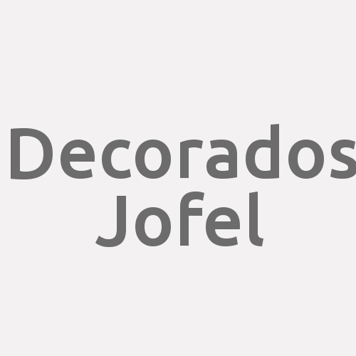 Decorados Jofel