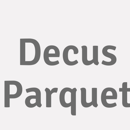 Decus Parquet