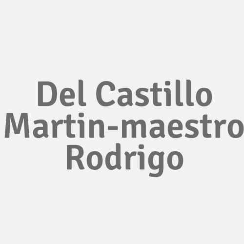 Del Castillo Martin-maestro Rodrigo