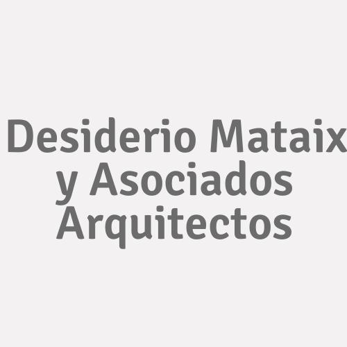 Desiderio Mataix y Asociados Arquitectos