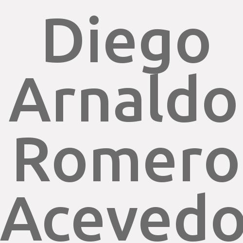 Diego Arnaldo Romero Acevedo
