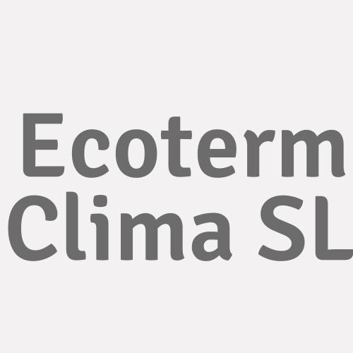 Ecoterm Clima SL