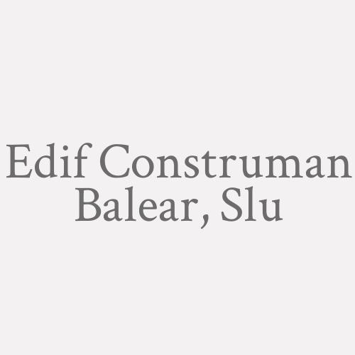 Edif Construman Balear, Slu