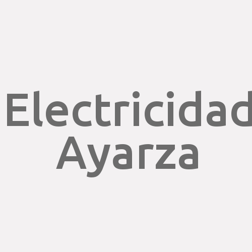 Electricidad Ayarza