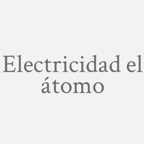 Electricidad el átomo