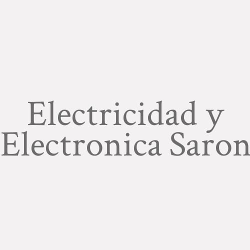 Electricidad Y Electronica Saron