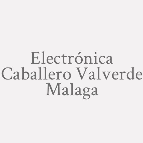 Electrónica Caballero Valverde Malaga